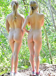 Horny Nude Hikers 10