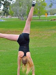 Khloe Acrobatics In Public 04