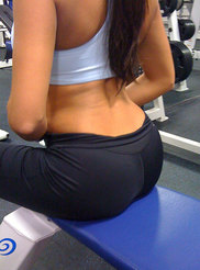 College Girl at Gym 06