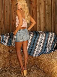 Denim Mini Skirt 04