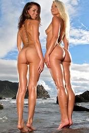 Lesbians at The Sea