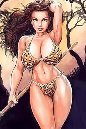 Comic Book Hotties