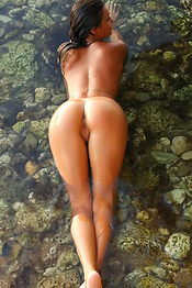 Paulina Wet Nude