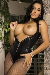 Nina black leather