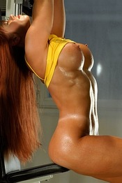 Playmate work out
