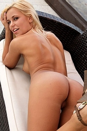Gorgeous Naked Blonde