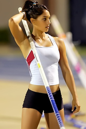 Pole Vaulting Girls