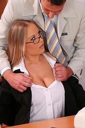 Horny Secretary